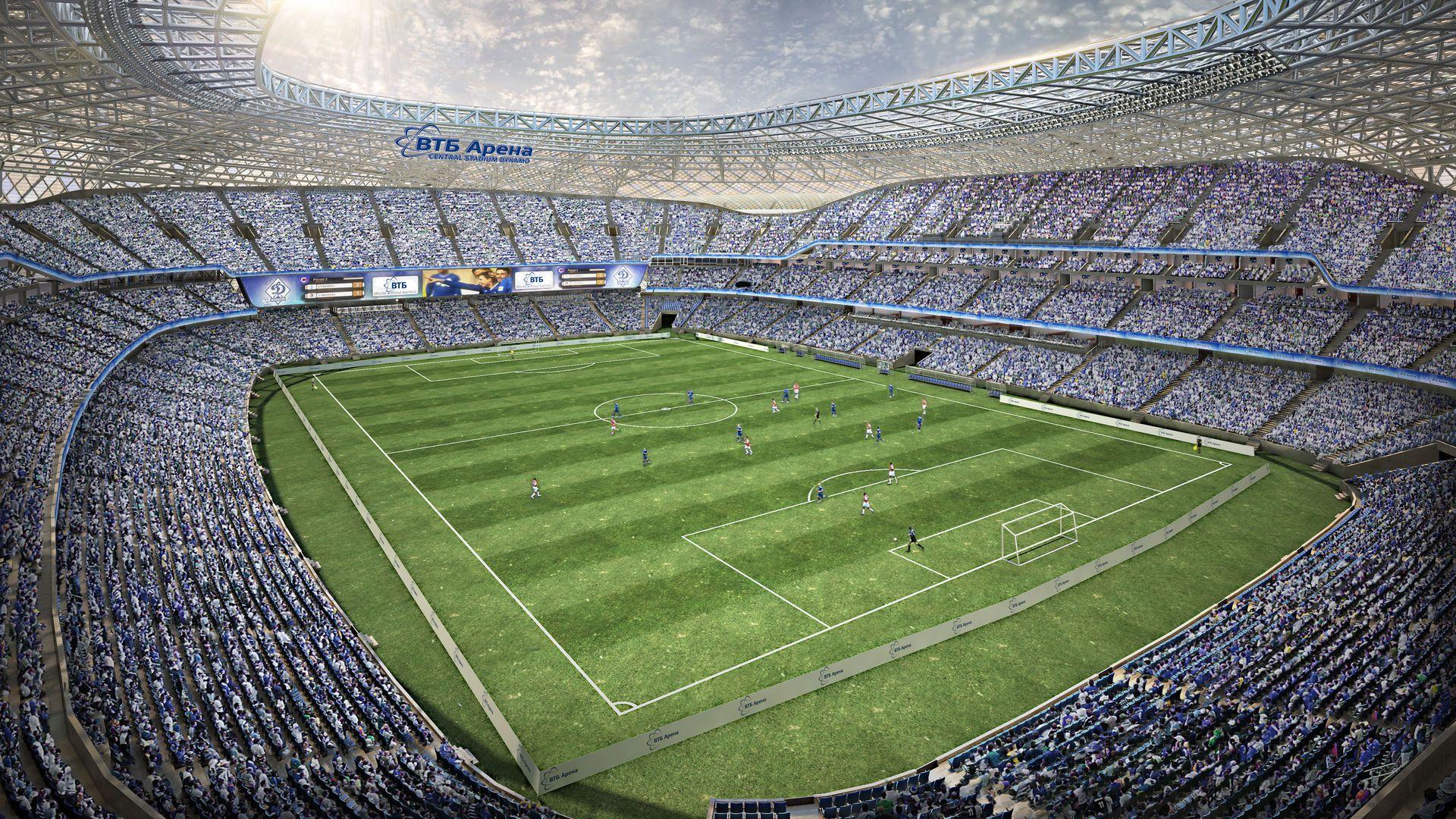 Футбольное поле ВТБ Арены