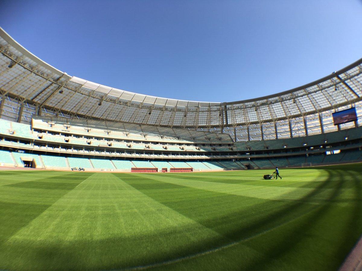 Мероприятия на стадионе в Баку