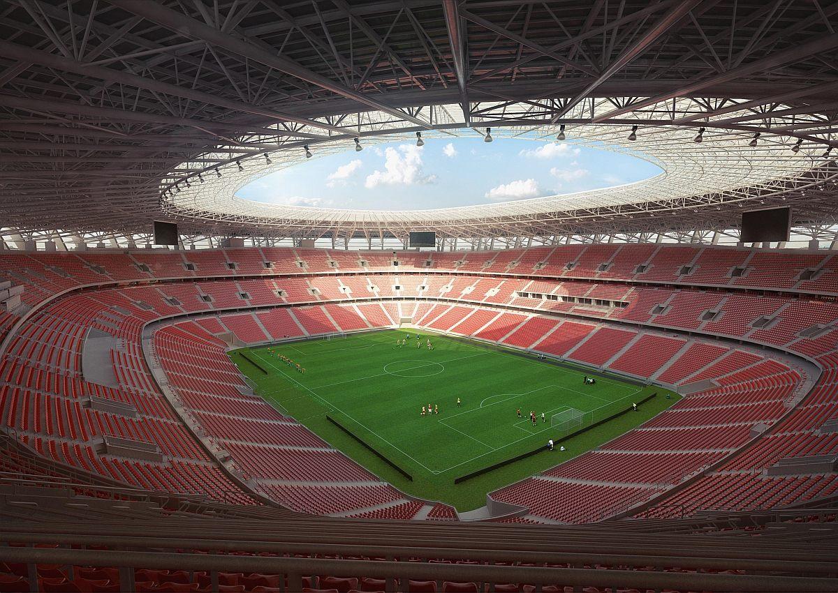 Новый стадион Ференц Пушкаш