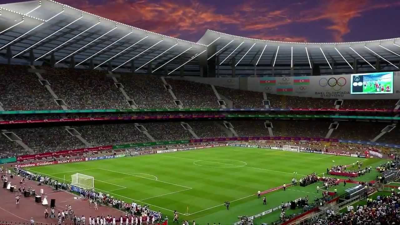 Стадион в Баку