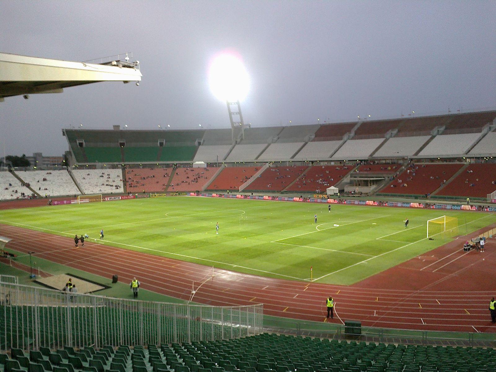 Стадион в Венгрии